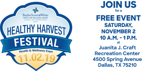 2019 Healthy Harvest Festival and Health and Wellness Expo tickets