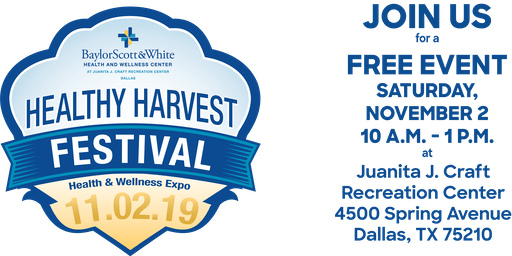 2019 Healthy Harvest Festival and Health and Wellness Expo