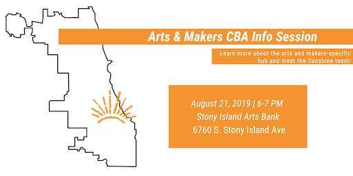 Arts & Makers CBA Info Session