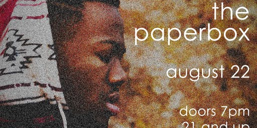MajorStage Presents: Gregory Wilson Live @ The Paper Box (Early Show)