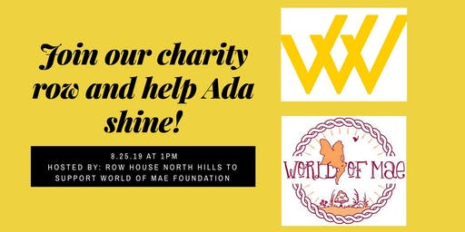 Row House Charity Row with World of Mae Foundation