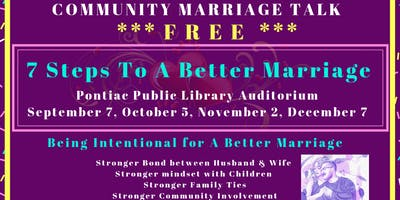 Community Marriage Talk