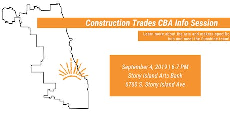 Arts & Makers CBA Info Session tickets