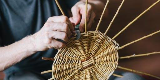 Basket Weaving: Pie Basket