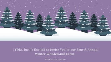 Fourth Annual Winter Wonderland
