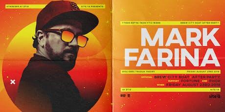 MARK FARINA [at] SITE 1A tickets