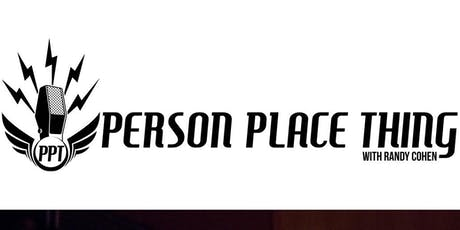 Person Place Thing Podcast LIVE w/ Randy Cohen and Massimo Pigliucci tickets