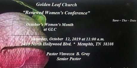 Renewed Women's Conference tickets