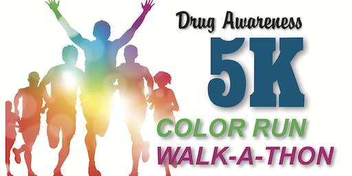 "Freedom House Adult & Teen Challenge ""Drug Awareness"" 5K Color Run & Walk"
