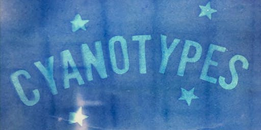 Cyanotypes - FLOW Photofest 2019 workshop