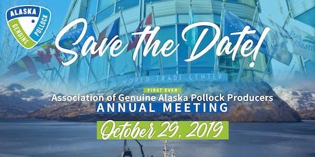 Association of Genuine Alaska Pollock Producers Annual Meeting tickets