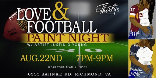 LOVE & FOOTBALL PAINT NIGHT