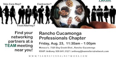 Rancho Cucamonga Professionals Kick Off