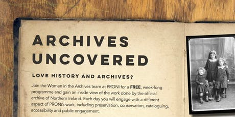 Archives Uncovered tickets