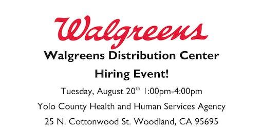 Walgreens Hiring Event
