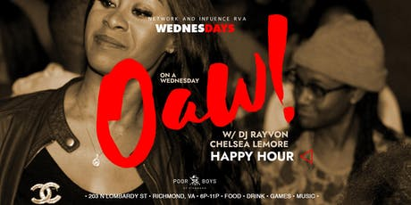 O.A.W.! at Poor Poys! RVA's Favorite mid-week Happy Hour tickets