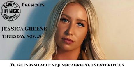 Jessica Greene - Gabby's Live Music Showcase tickets