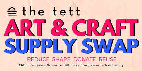 Art & Craft Supply Swap tickets