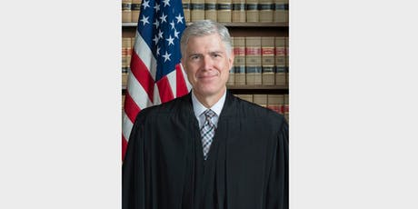 Supreme Court Justice Neil Gorsuch tickets