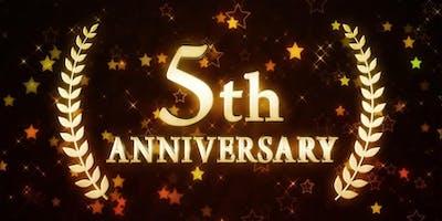 Free Tasting! 5-Year Anniversary