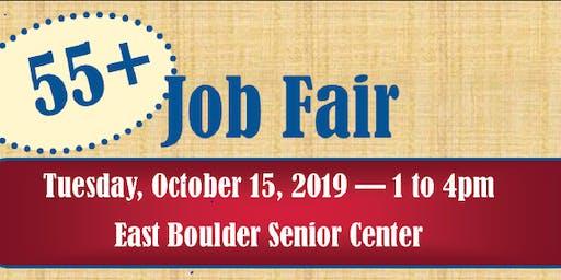 2019 55+ Boulder Job Fair