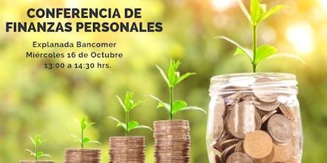Conferencia: Finanzas Personales boletos