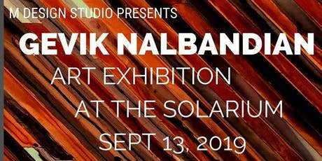 Gevik Nalbandian @ The Solarium tickets
