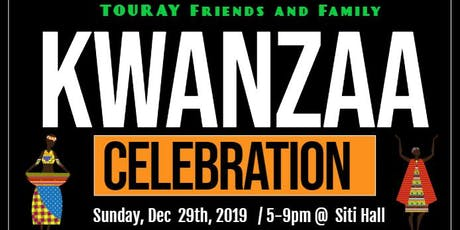 6th Annual Touray Kwanzaa UJAMAA Marketplace Vendor 2019 (Small Business) tickets