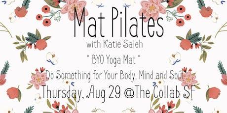 Mat Pilates with Katie Saleh tickets