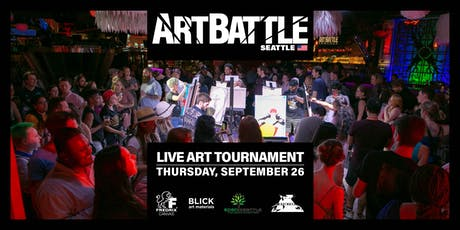 Art Battle Seattle - September 26, 2019 tickets