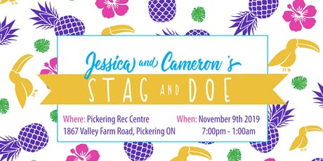 Cameron & Jessica's Stag and Doe tickets