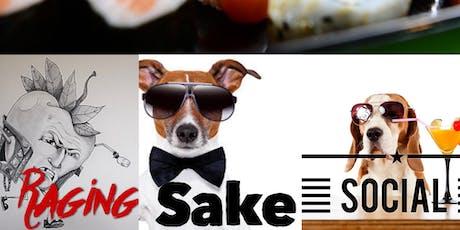 Raging Sake Social & Dinner tickets