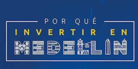 ¿Por Qué Invertir en Medellín? en Madrid tickets