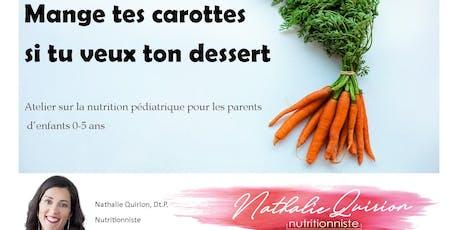 Atelier sur la nutrition pédiatrique pour les parents billets