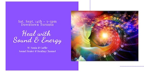 Heal with Sound & Energy tickets