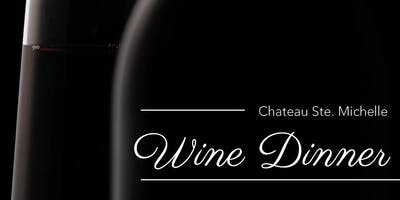 Chateau Ste. Michelle, Wine Dinner