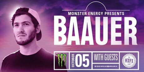 Monster Energy Pres: BAAUER tickets