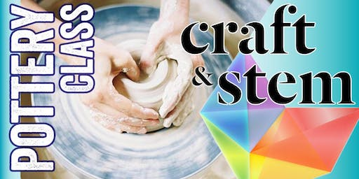 Adult Pottery Class - Friday Evening - 6:30 to 8:30 pm
