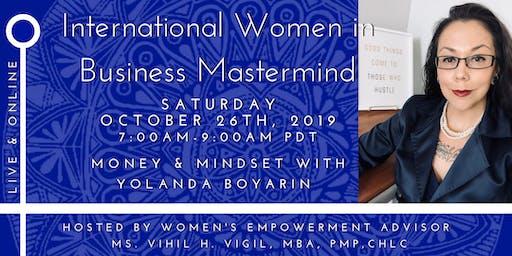 International Women in Business Mastermind - Money & Mindset!