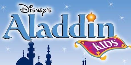 Aladdin KIDS Tickets Saturday, September 21st at 7:00pm tickets
