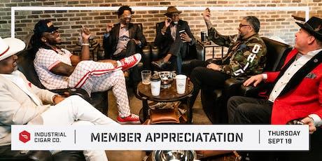 Member Appreciation at ICC tickets
