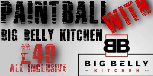 PAINTBALL with BIG BELLY KITCHEN ALL INCLUSIVE