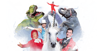 Carson & Barnes Circus Presents CircusSaurus - Rogers, AR
