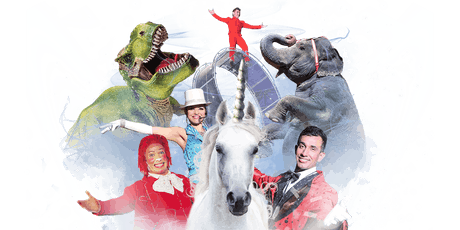 Carson & Barnes Circus Presents CircusSaurus - Rogers, AR tickets