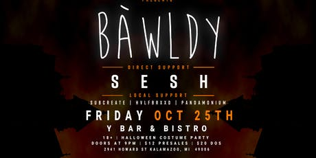 Bawldy Halloween Party tickets