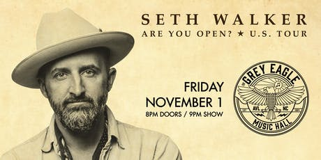 Seth Walker tickets