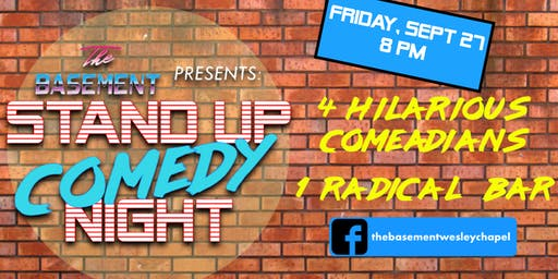 Comedy Night @ The Basement: Number 5!