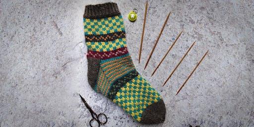 Fairisle Socks with Nicky Barfoot