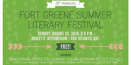 The 15th Annual Fort Greene Summer Literary Festival tickets