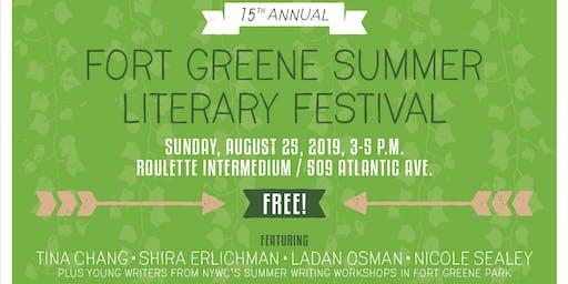 The 15th Annual Fort Greene Summer Literary Festival